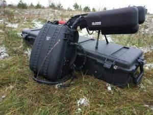 Радиоэлектронное ружье для борьбы с мультикоптерами «ГРОЗА - Р»