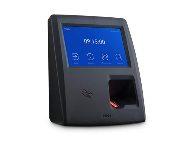 Биометрический терминал учета рабочего времени PERCo CR11