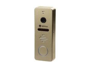 Панель видеодомофона Optimus DSH-1080 (золото)