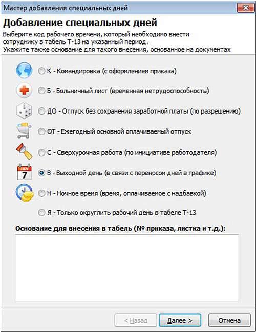 URV PRO special days