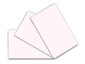 Пластиковая визитка двухсторонняя