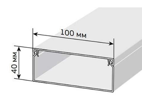 Кабельный канал 100х40 мм