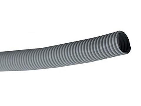 Труба гофра, Ф50мм, серая, без протяжки