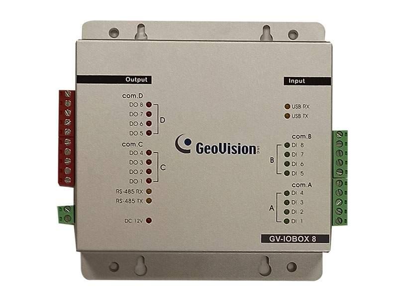 GV-IOBox 8E V1.20+GV-Ethernet Module EU