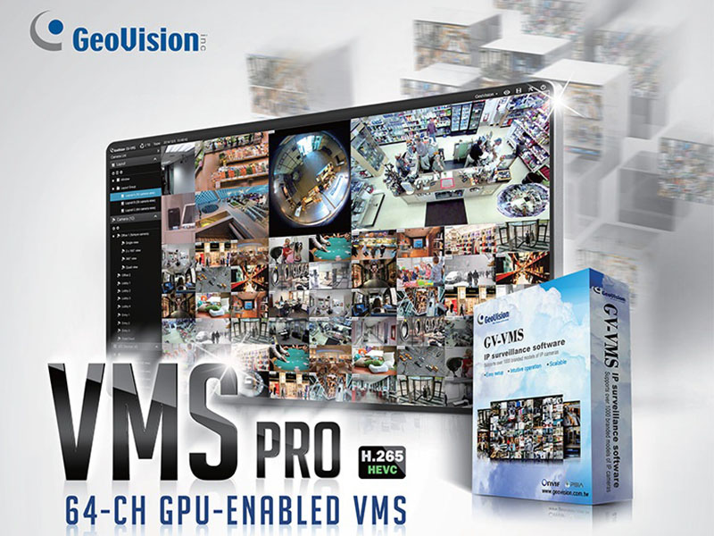 GV-VMSPRO for 64 CH