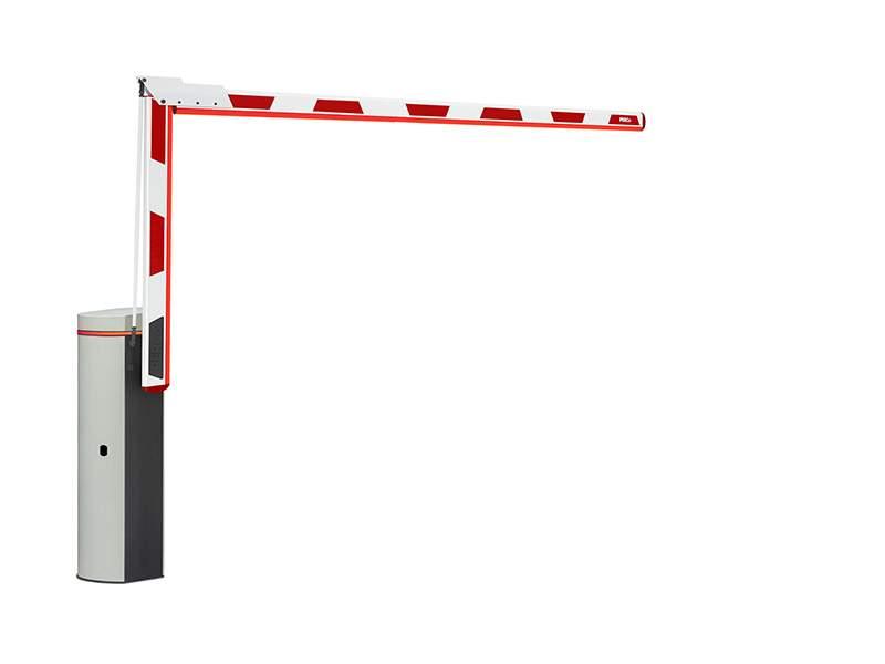 Шлагбаум GS04 со складной стрелой прямоугольного сечения 4,3 метра